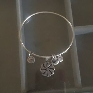 Alex and Ani Eternity symbol bracelet